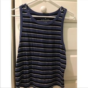 Striped American eagle tank